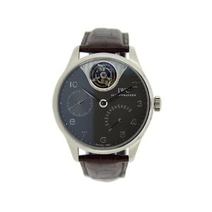 IWC Men's IW504207 Portuguese Tourbillon Mystère Watch